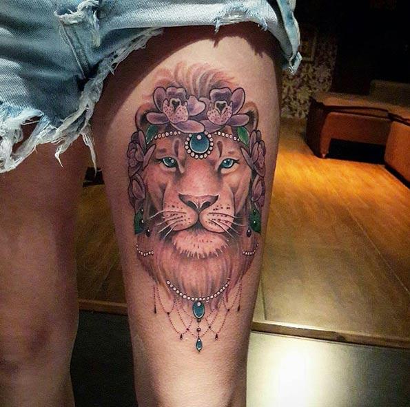 Epicos Tatuajes de Leones, Los Mejor Diseños