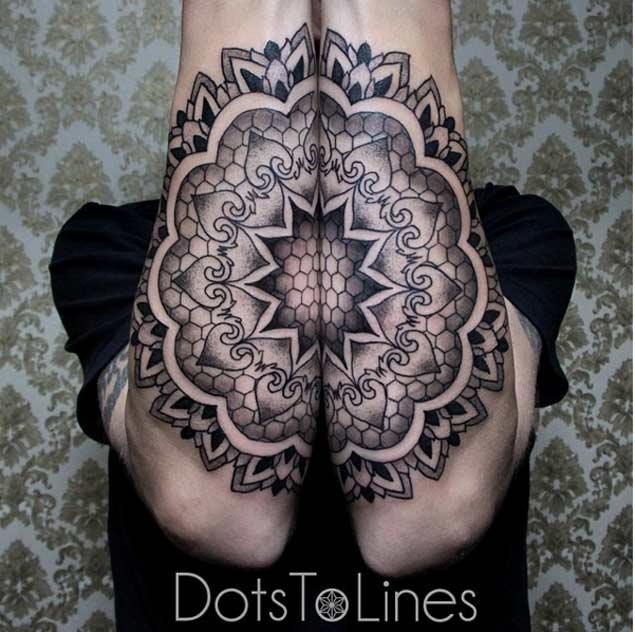 Tatuajes Simetricos 5 Increíbles Tatuajes Con Una Simetría Perfecta