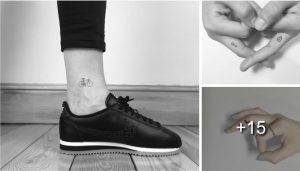 Adorables Micro Tatuajes Desearas Mas de Uno
