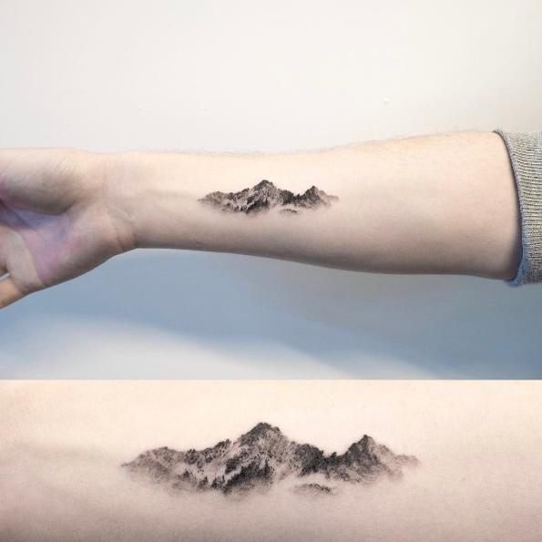 Sorprendentes Tatuajes de Montañas