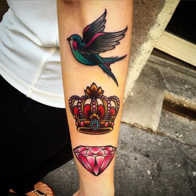 tatttos coronas 6 Tatuajes de Coronas