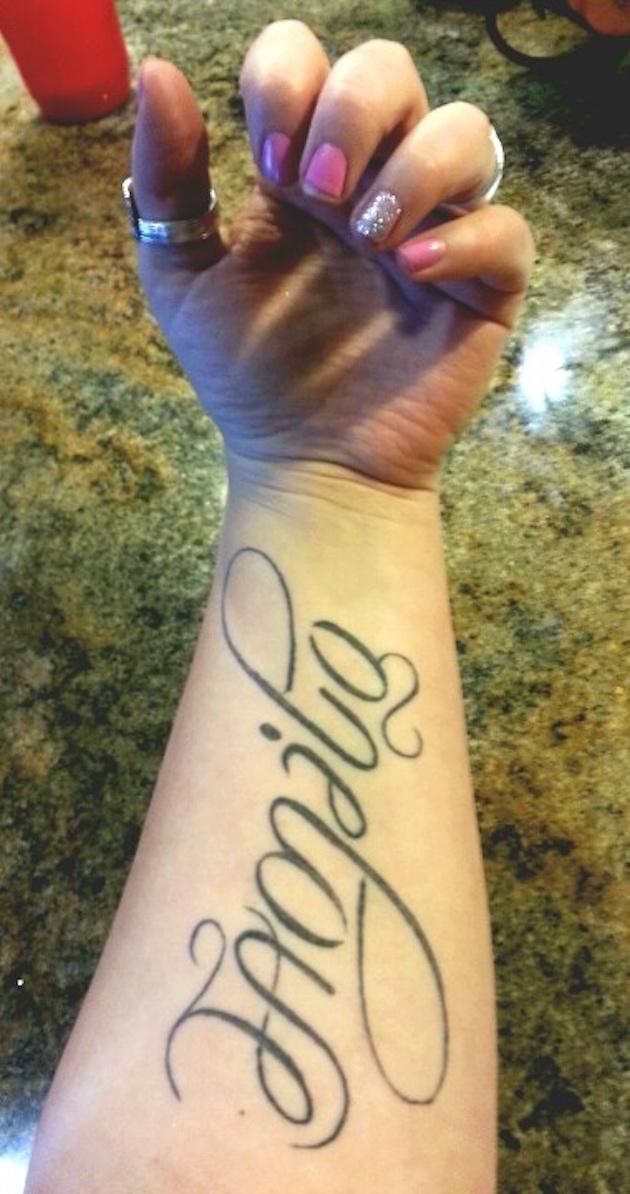 tatuajes ambigramas 7 Tatuajes de Ambigramas