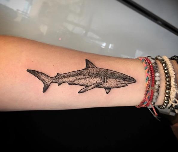 tatuajes de tiburones 1 Fantásticos Tatuajes de Tiburones
