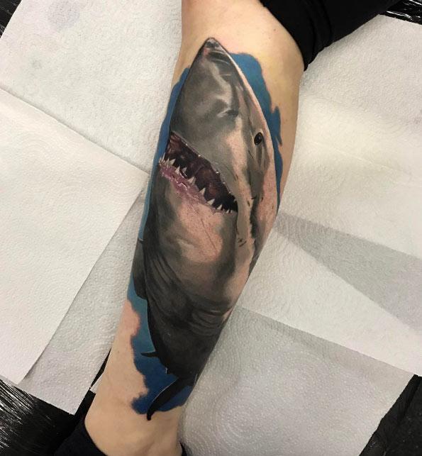 tatuajes de tiburones 2 Fantásticos Tatuajes de Tiburones