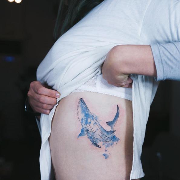 Fantásticos Tatuajes de Tiburones