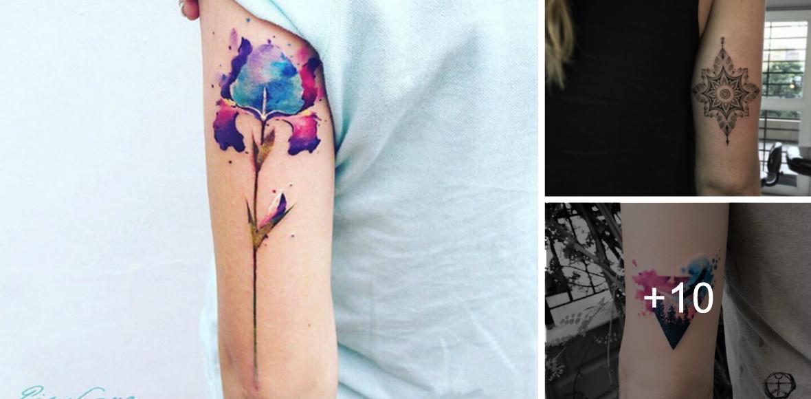 Tatuajes En La Parte De Atrás Del Brazo Tatuajes Para Mujeres Y