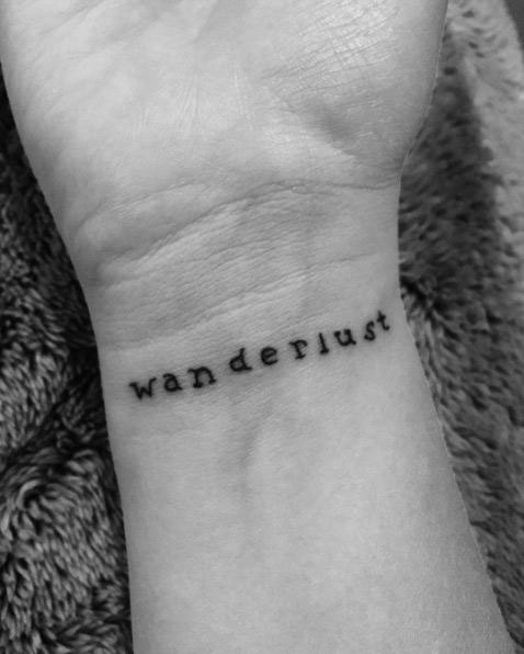 wanderlust travel tattoo Tatuajes Inspirados en Viajes o Destinos
