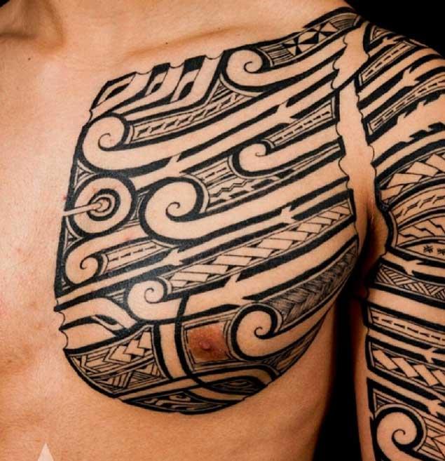 tatuajes de kenny brown 13 Increibles Tatuajes Tribales del Artista Kenny Brown