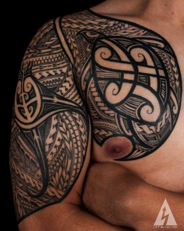 Increibles Tatuajes Tribales del Artista Kenny Brown