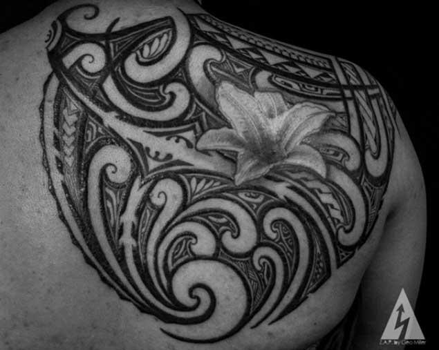 tatuajes de kenny brown 8 Increibles Tatuajes Tribales del Artista Kenny Brown