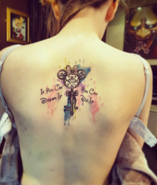Diseños de Tatuajes de Llaves Maestras Imperdibles