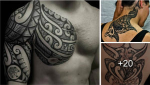 Increibles Tatuajes Tribales del Artista Kenny Brown