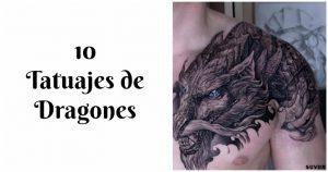 10 Tatuajes De Dragones Imponentes