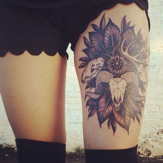 Tatuajes en la Piernas