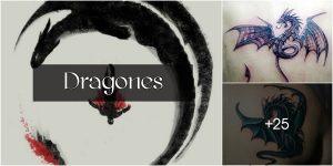 Tatuajes de Dragones