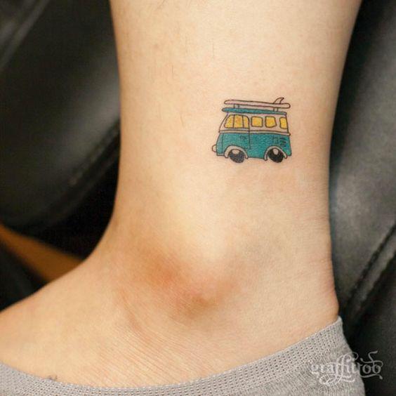 tatuajes de autos 3 Tatuajes de Autos