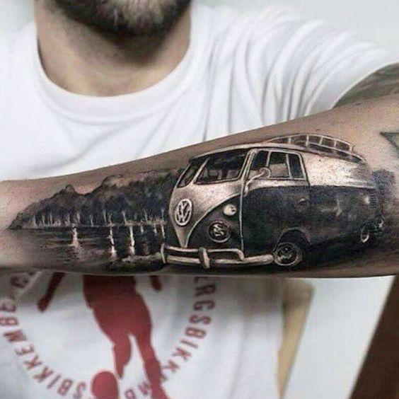 tatuajes de autos 4 Tatuajes de Autos