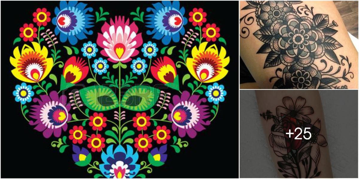 Tatuajes de Flores & Objetos