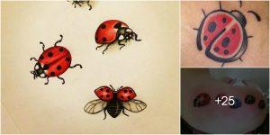 Tatuajes de Mariquitas