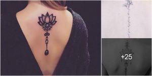 Tatuajes Para Mujeres en la Columna