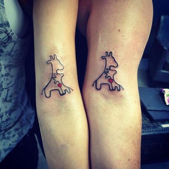 tatuajes madre e hija 1 2 Tatuajes Madre & Hija