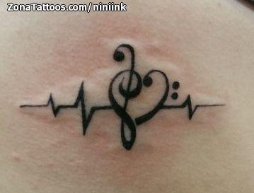 Tatuajes Con Notas Musicales Tatuajes Para Mujeres Y Hombres