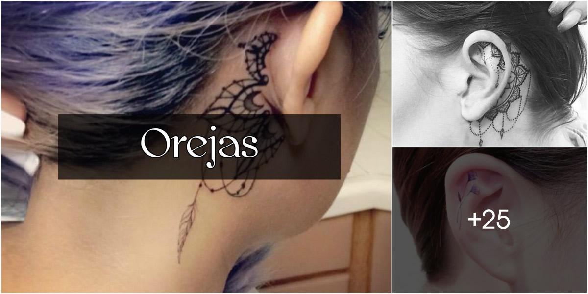 Tatuajes en Orejas