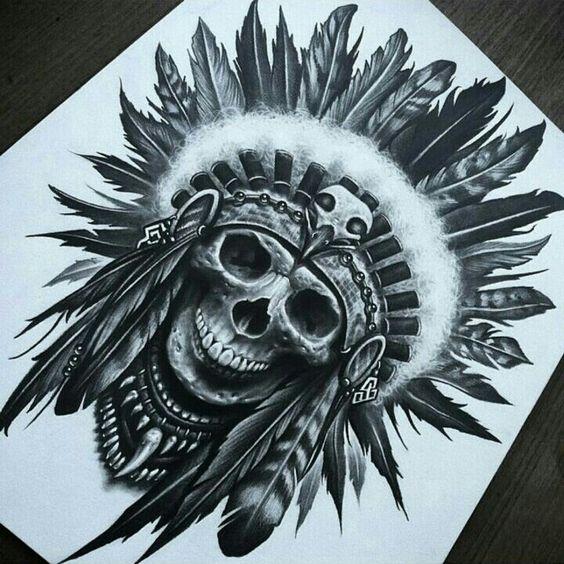 Tatuajes de Nativos Americanos