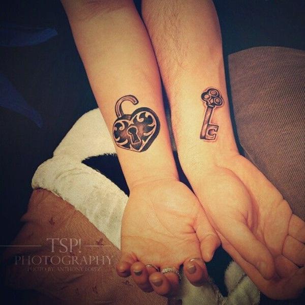 Hermosos tatuajes para una pareja